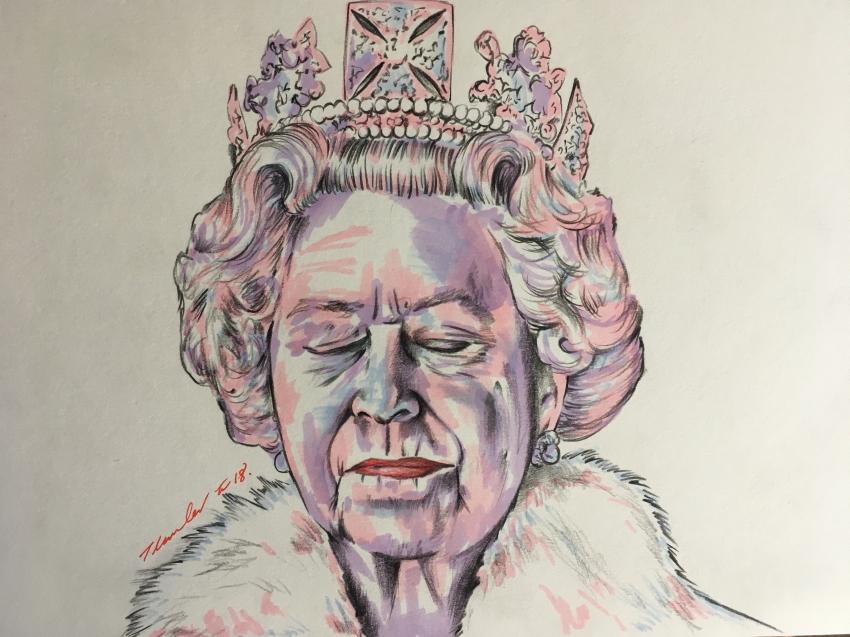 Elizabeth II by TraceyLawler